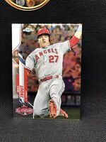 2020 Topps Chrome Update Mike Trout #U-69 Refractor Clean Edges PSA Contender