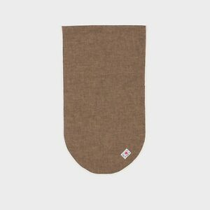 SALE - Tender Co. Type 013 Bias Bound Scarf - Brown Wool - Made in England