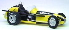 1 Vintage Racer Race Car Sport Midget Sprint Dirt 1960s Indy Carousel Yellow 18