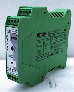 Phoenix Contact MINI-PS-12-24DC/24dc/1 POWER SUPPLY Used