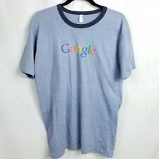 Google Technology Size Large Shirt American Apparel USA I'm Feeling Lucky