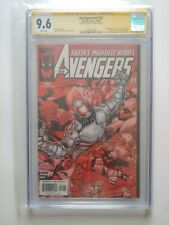 Avengers Vol.3 #22      Signed by Artist George Perez     CGC Signature Series