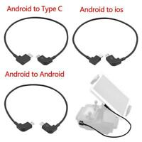 OTG Micro Type-C USB Cable iPhone IOS Andriod For DJI Spark/Mavic Pro RC New
