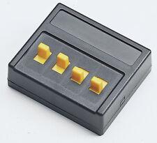 Roco 10524 Schalter 4-fach Funktion Ein/Ein