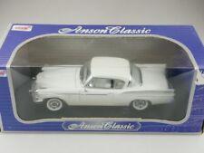 Anson 1/18 Studebaker Golden Hawk Coupe weiß mit Box 512657
