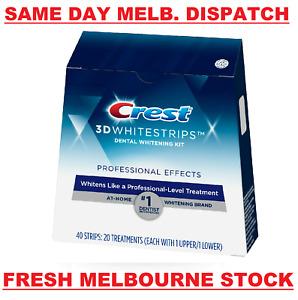 Crest 3D White 40 x Professional Flexfit Teeth Whitening Strip (20 Treatments)