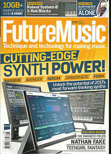 FUTURE MUSIC MAGAZINE, TECHNIQUE AND TECHNOLOGY FOR MAKING MUSIC  MAY, 2017