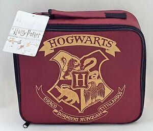 Harry Potter - Hogwarts - Lunch Bag - Brand New