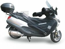 Leg Guards Wind and Weather Protection Black for Piaggio X9 125 - 500cc