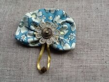 Flower brooch pin corsage Cath Kidston fabric handmade fashion for coat,hat,bag