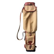 Tourbon Golf Gun Club Bags Ball Holder Antique Travel Vintage Pencil Tee Carrier