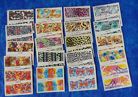 """20 Sets Tropical Animals Nail Art Stickers Water Decals Transfer C 2.75"""" #AJ"""