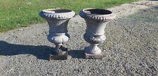 Paire de Vases Medicis en Fonte