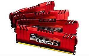 32GB G.Skill DDR3 PC3-12800 RipjawsZ Series for Intel X79 CL10 Quad kit 4x8GB