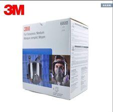 Original 3M 6800 Full Facepiece Reusable Respirator 3M full face Gas Mask Medium