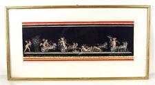 Giovanni Gallo 1915 / Gemälde, signiert / Pompei / Fresko mit Putten / 1979