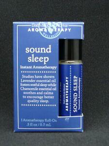 Bath & Body Works Aromatherapy SOUND SLEEP Roll-On Lavender Chamomile 0.3 oz NEW