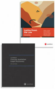 NEW Laying Down the Law, 11th edition and LexisNexis Concise Australian Legal Di
