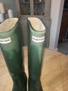 Hunter Wellies size 6