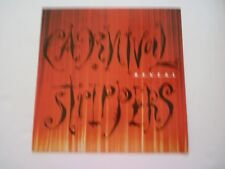 Carnival Strippers Reveal Cardboard LP Record Photo Flat 12X12 Poster