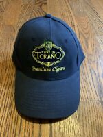 Brand New Carlos Torano Premium Cigars Adjustable Hat With Embroiled Logo