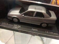 Minichamps 1/43 Alfa Romeo 155 Q4 Silver - no Spark,Bbr