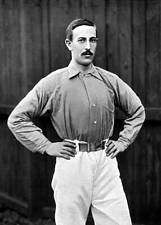 OLD SPORTS PHOTO Football Ca 1895 S Arridge Everton And Wales