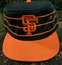 San Francisco Giants Basebal Pill Box Snapback Hat Black, orange pinstripes L@@K