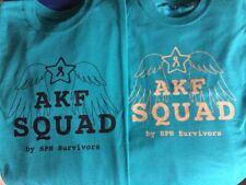 AKF Squad T-shirt, Jade Green (mental health education, Always Keep Fighting)