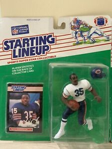 Kenner Starting Lineup Figures Lot: 1989 Chicago Bears Partial Set