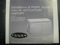 TOWER A2PORT MOTORISED VALVE ACTUATOR COMPATABLE ON HONEYWELL V4043H FREE POST