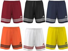 Adidas Junior Shorts Entrada 14 Boys Kids Sport Football Black Navy White 7-14 Y