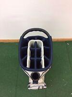 Adams Golf Idea Ladies Cart Bag Tan/Blue 14-Way w/Integrated Putter Well