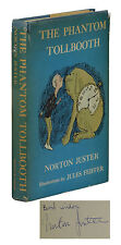 The Phantom Tollbooth ~ SIGNED by NORTON JUSTER ~ First Edition 1961 ~ 1st Print