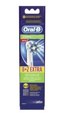 10 x Braun Oral B CROSS ACTION Replacement Toothbrush Heads CrossAction