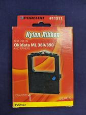 Porelon 11511 Okidata Microline 380/390 Nylon Printer Ribbon with Re-Inker, 1-P