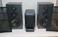 Sony SA-W305 Active Powered Subwoofer SS-MB215 Surround Sound Speakers