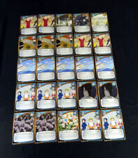 Lot of (25) Naruto CCG Avengers Wrath Mission Cards * Jofuku Flower 939