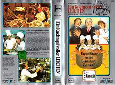 """VHS - """" Ein Kochtopf voller LEICHEN """" (1978) - George Segal - Jacqueline Bisset"""