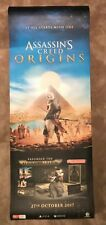 ASSASSIN'S CREED ORIGINS OFFICIAL PROMO POSTER SUPER BANNER 210CM x 80CM NEW