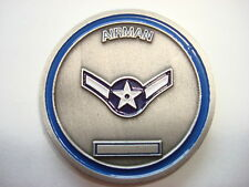 US Air Force AIRMAN 2-Side Challenge Coin *New*