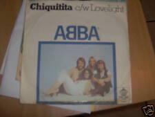 7' ABBA CHIQUITITA LOVELIGHT RARA EDIZ YUGOSLAVIA
