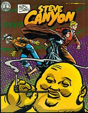 STEVE CANYON #9 by Milton Caniff (1985) Kitchen Sink Comics magazine FINE