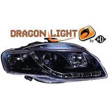 Paar leuchttürme scheinwerfer vorne TUNING AUDI A4 04-08 schwarz Dayline LED-