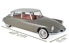 NOREV 121562 - Citroen DS 19 1959 Marron Glacé & Blanc Carrare 1/12