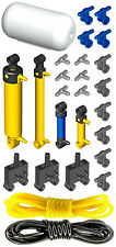 Lego Pneumatic AIR TANK KIT 3 (cylinder,mini,pump,tube,hose,switch,valve,piston)