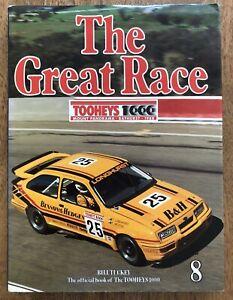 The Great Race No 8 Tooheys 1000 Bathurst 1987/88 Bill Tuckey Tony Longhurst