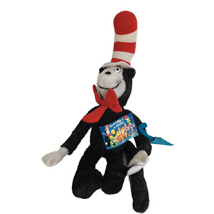 The Cat in the Hat Stuffed Animal Coleco Vintage 1980s Dr Seuss Kids Room Decor