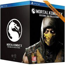 ✅Mortal Kombat X (Kollector's Limited Edition) - PlayStation 4 [ITA]