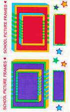 Mrs. Grossman's Giant Stickers - Frames - All Star School Picture - 2 Strips